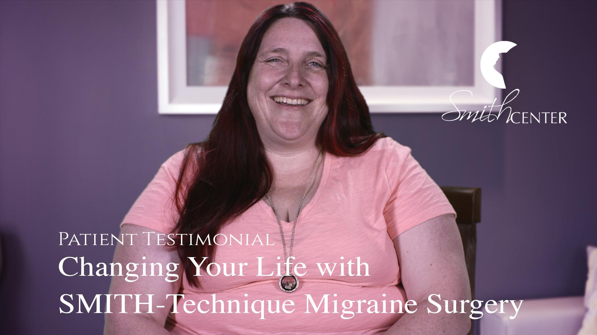 SMITH-Technique migraine surgery