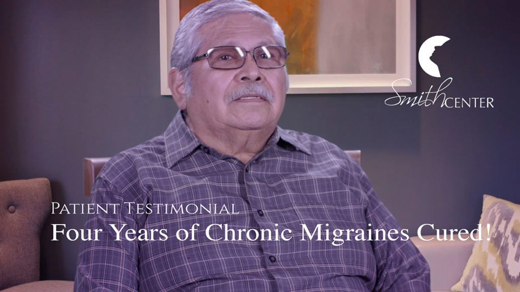 Chronic Migraines Cured With SMITH-Technique